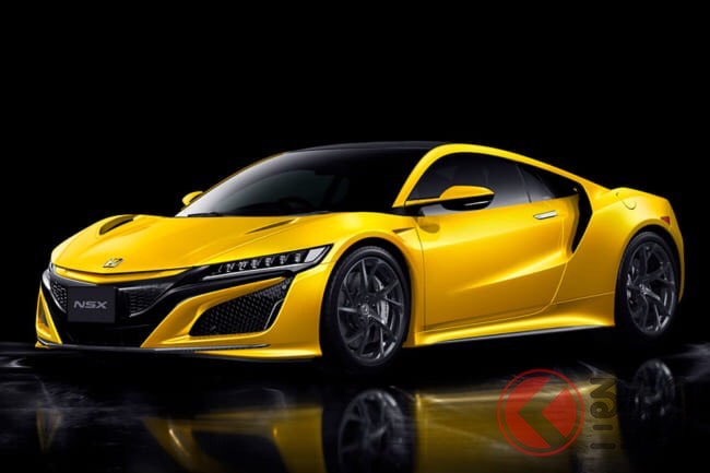 画像_黄色のスポーツカー